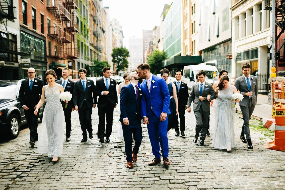 groomsmen kissing bold colors.jpg