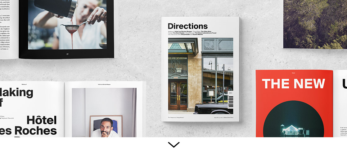Directions the magazine by design hotels 2017 edition for Designhotel 54