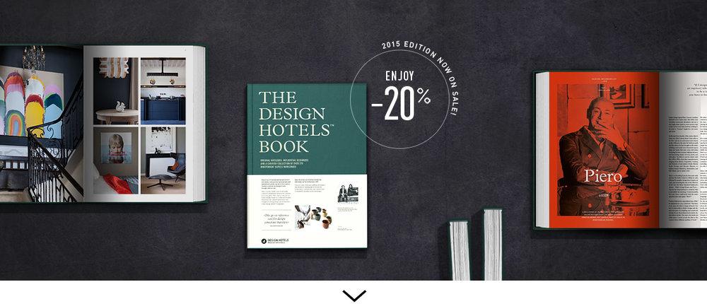 The design hotels book 2015 design hotels for Design hotels 2015