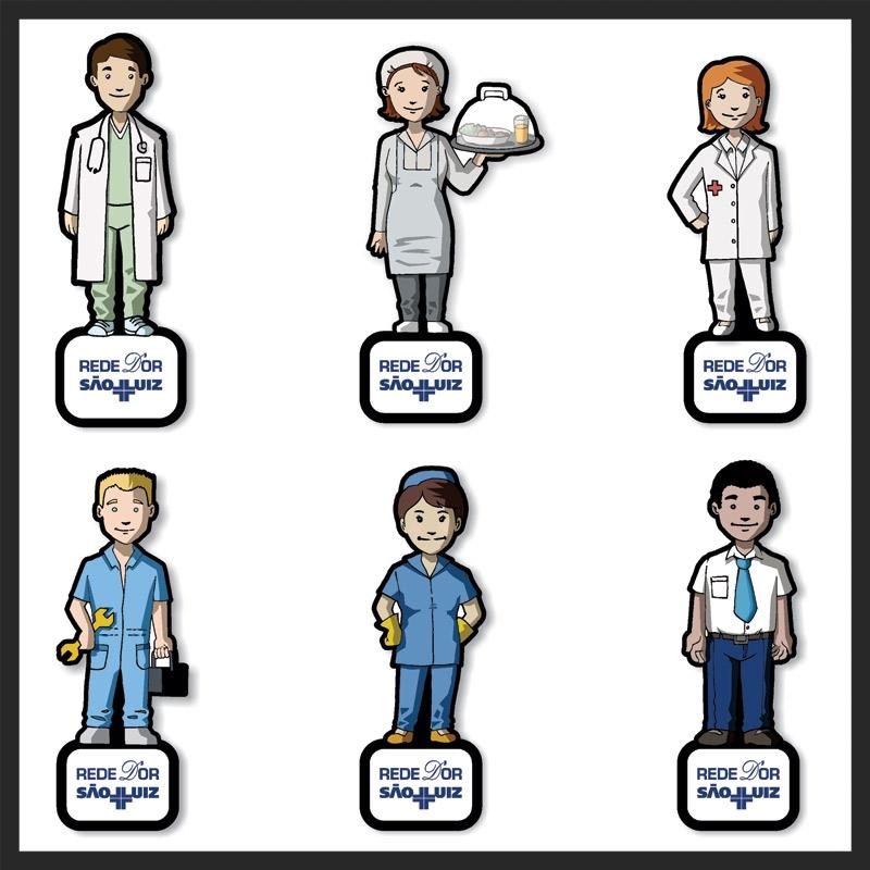 Imãs Profissionais da Saúde