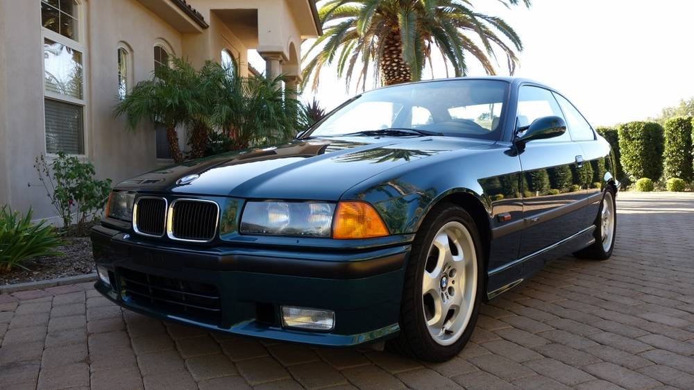 1995 BMW M3 Boston Green over Champagne, luxury package, Auto, 35k miles $16500