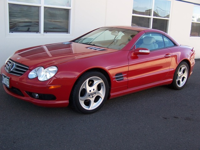 2004 Mercedes Benz SL 500. 54k miles and well looked after. $26k