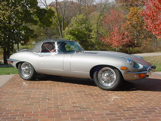 Vintage cruising and car shows? This beautiful 1970 E type would do a great job.