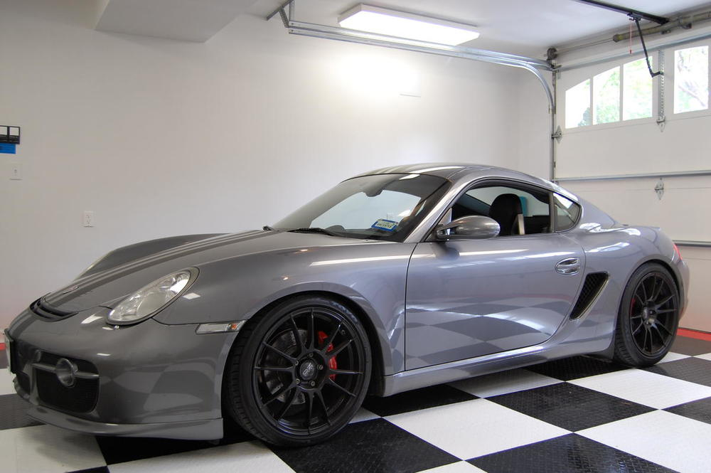 "And finally... If you are a track ""guy"" but are still trying to make due in the advanced groups with something from the last few decades.  And you just don't have the funds for new and or exotic? This fully prepared 2006 Cayman S street/track car with a turbo and over 420 horsepower will run with the bulls at any road course in the country for the price of a  nice mini-van."