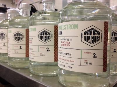 11 Wells Distillery Rhum Agricole is on sale now.