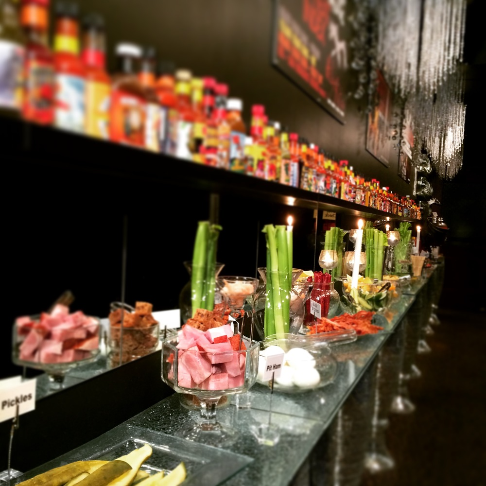 the bloody mary bar at hells kitchen - Hells Kitchen Minneapolis