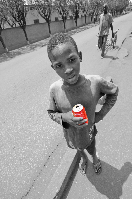 CC Geraint Rowland, Boy in Mali