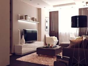 Дизайн квартиры с лоджией