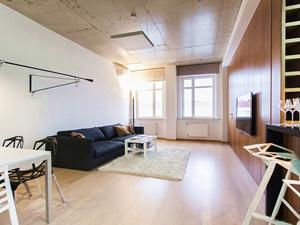 Реализованный проект квартиры-студии