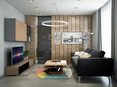 Перепланировка квартиры-студии вЖК «Чайковский»