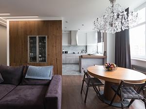Реализация квартиры в современном стиле