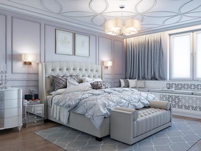Дизайн-проект трехкомнатной квартиры для девушки