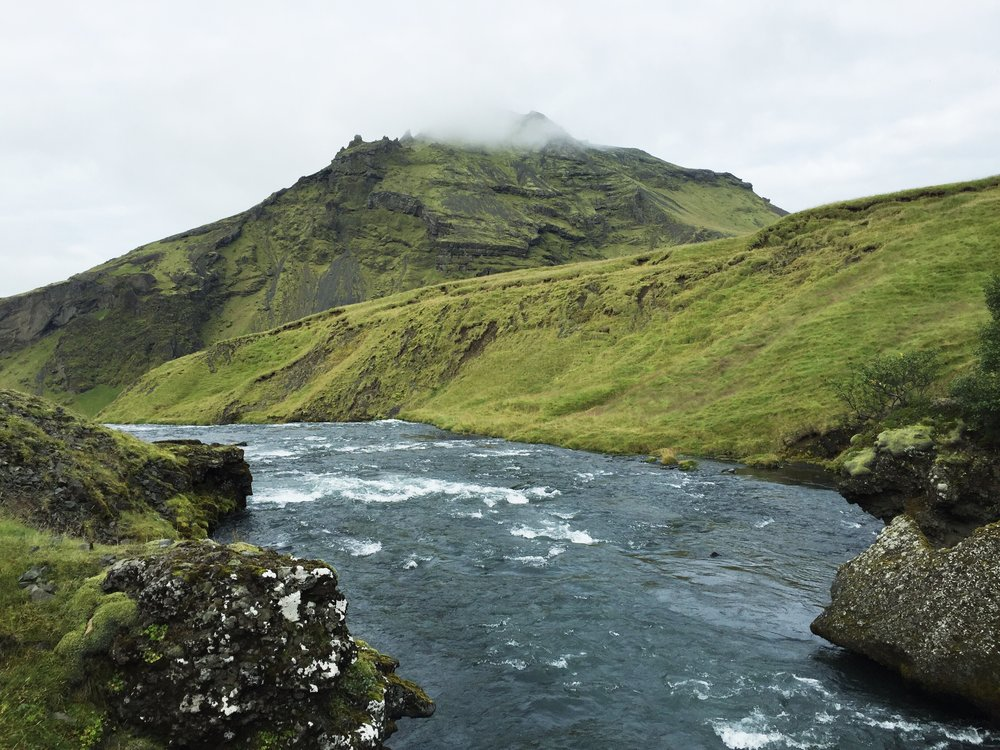 Skógá River, South Iceland