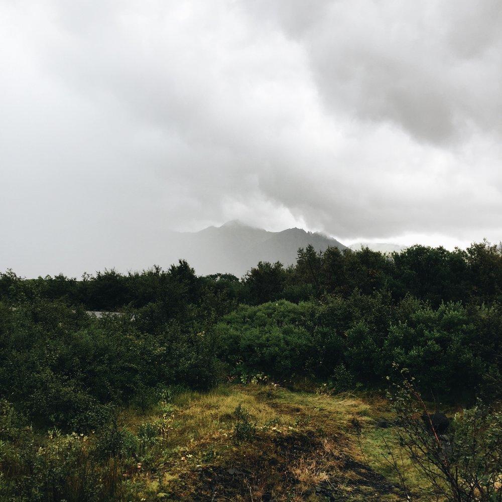 Copy of Low visibility at Vatnajökulsþjóðgarður