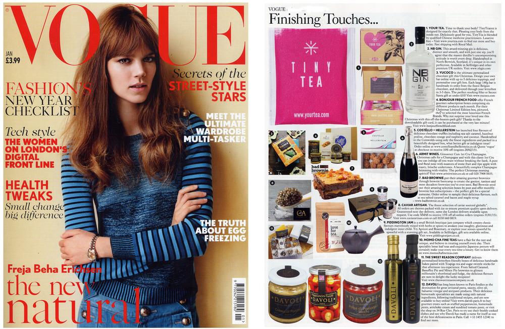 Vogue. January 2015