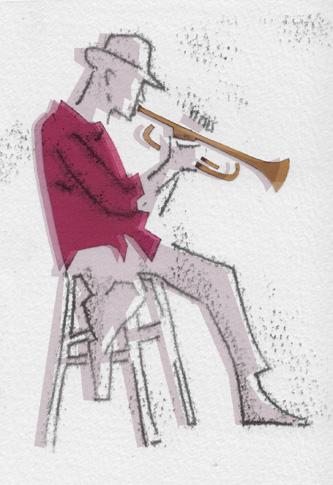 Trumpet Player Greetings Card Sketch.jpg