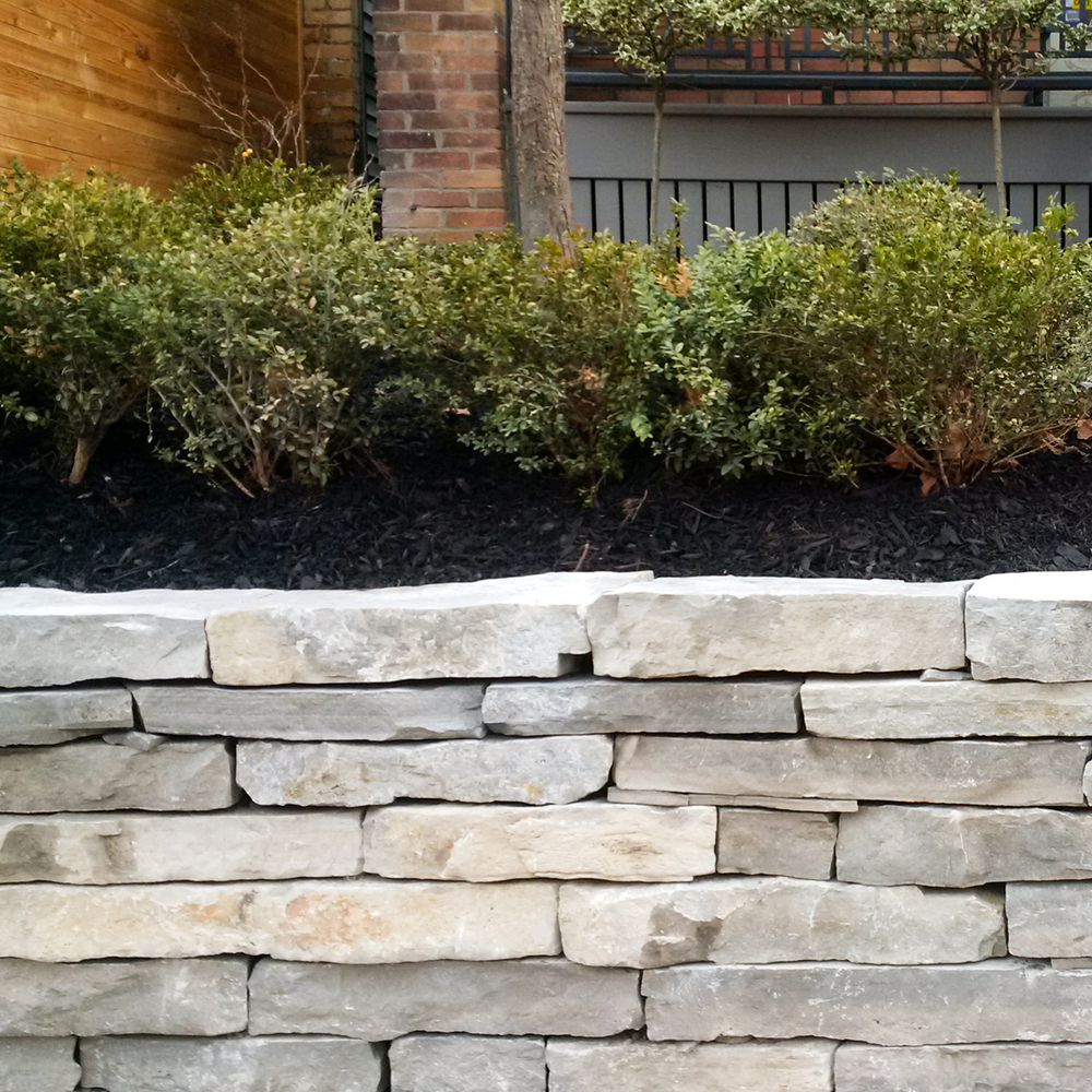 GARDENS AND RETAINING WALLS