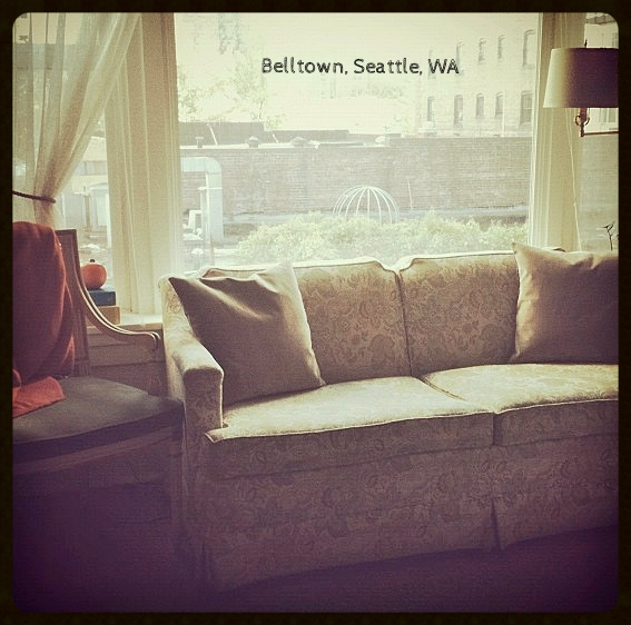 400 Square Foot Studio in Belltown.  The heart of Downtown Seattle, WA (Fall 2011)