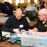 Vex robotics PD day at Orchard park. Photos by Ancaster High teacher Antoinetta Saunders