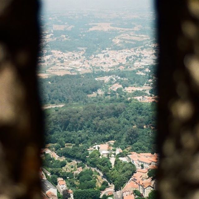 As New York is finally starting to warm up, I'm thinking about some of my warmer trips. One that sticks out is my day-trip to Sintra from Lisbon, and the incredible views from the Castelo dos Mouros. #35mm #nikonf3 #sintra #portugal #filmisnotdead #castelodosmouros