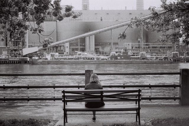 Wandering around Roosevelt Island a few weeks back. One of my favorites from the latest rolls of film I had developed.