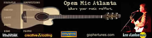 Groove Tunes Studios, an Altanta recording studio, is a sponsor of Open Mic Atlanta