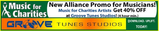 Groove Tunes Studios, offers discounted rates for music recording in the Atlanta area for members of Music for Charities