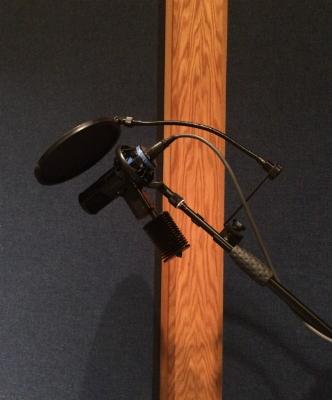 Sony GPAC C800 tube microphone