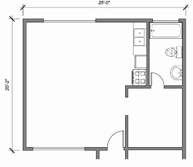 Existing Schematic Floor Plan
