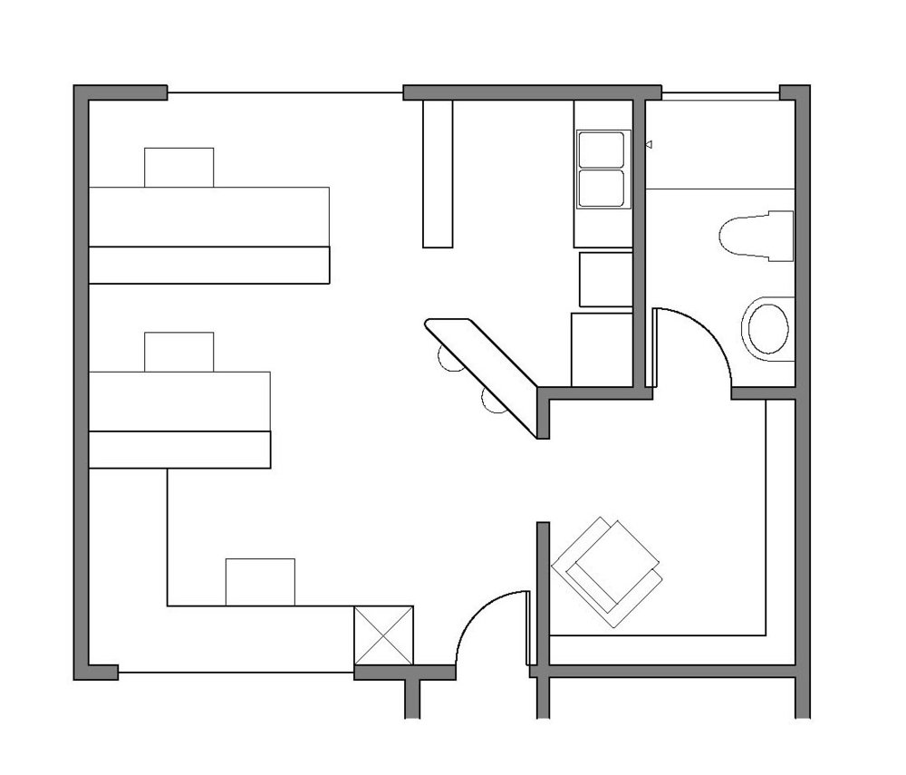 Proposed Schematic Floor Plan