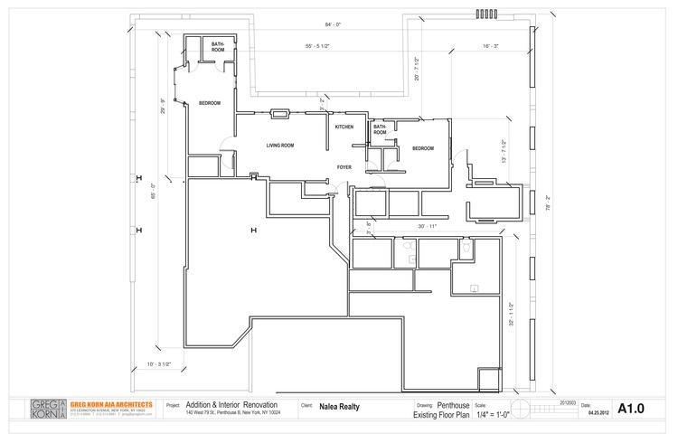 a10 Penthouse Apartment Addition Landmarks Preservation Commission Drawings Floor Plan.jpg