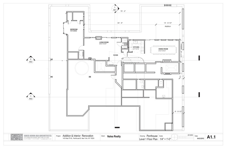 a11 Penthouse Apartment Addition Landmarks Preservation Commission Drawings Floor Plan - Proposed.jpg
