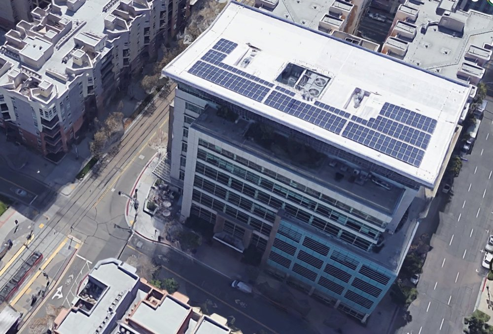 Building - Aerial View
