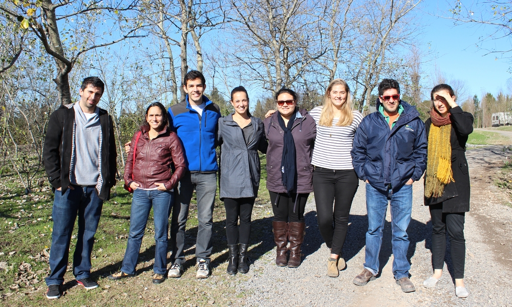 Interns at an estancia outside of Buenos Aires