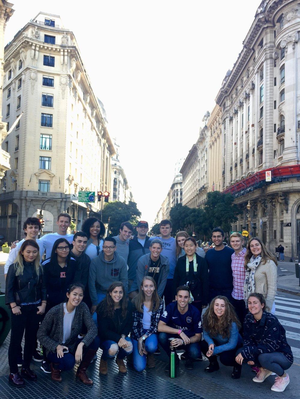 Puentes city tour - downtown