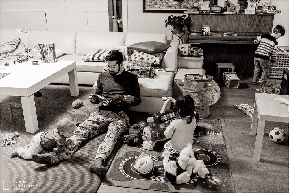šeimos fotografija