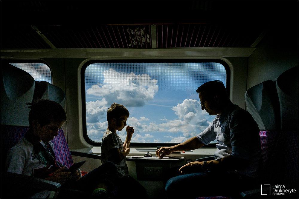 Su Benu Džiugu ir tėveliais -