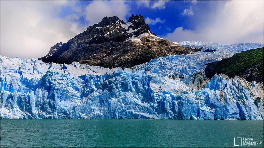 Argentina's glacieres by Laima Drukneryte
