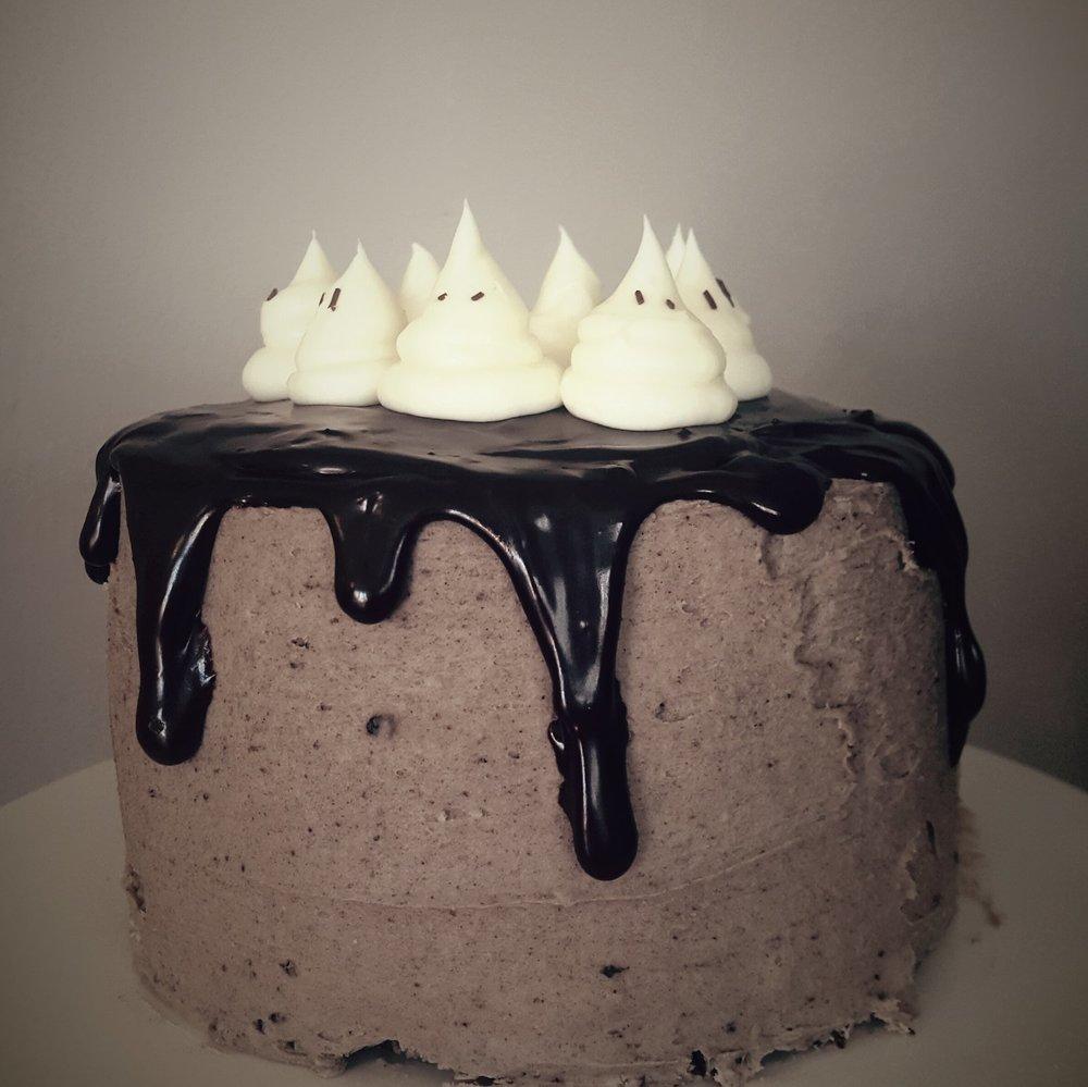 Gah-Gah-Ghost Cake