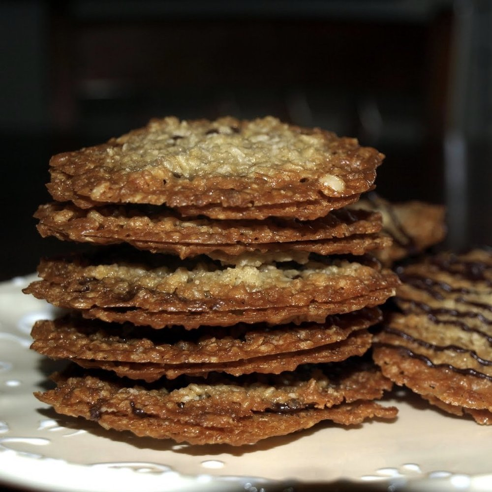 Buttery Crunchy Florentines