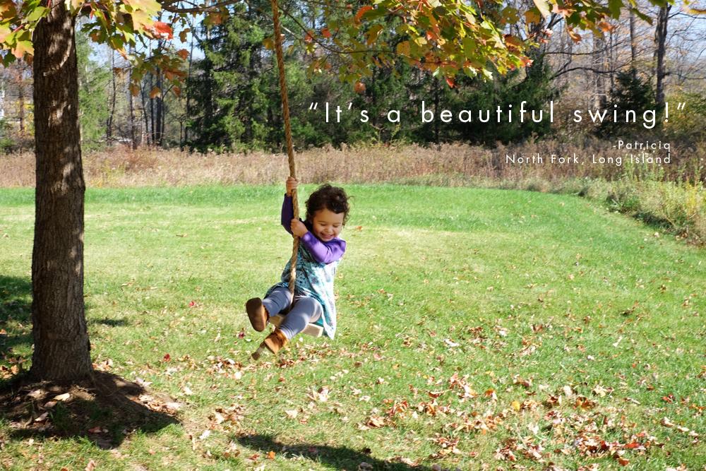 Hex Tree Swing | The New Amity Workshop