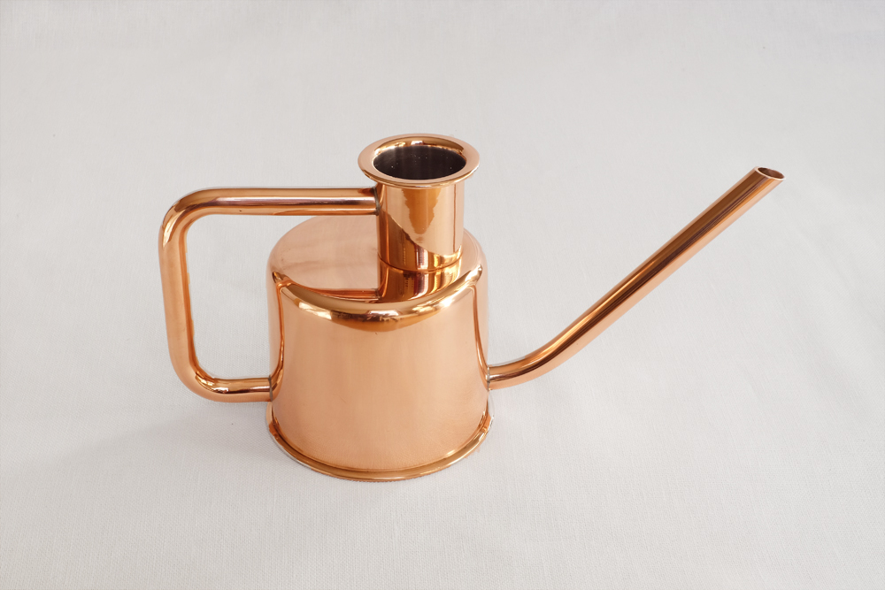 x3 Watering Can - Solid Copper
