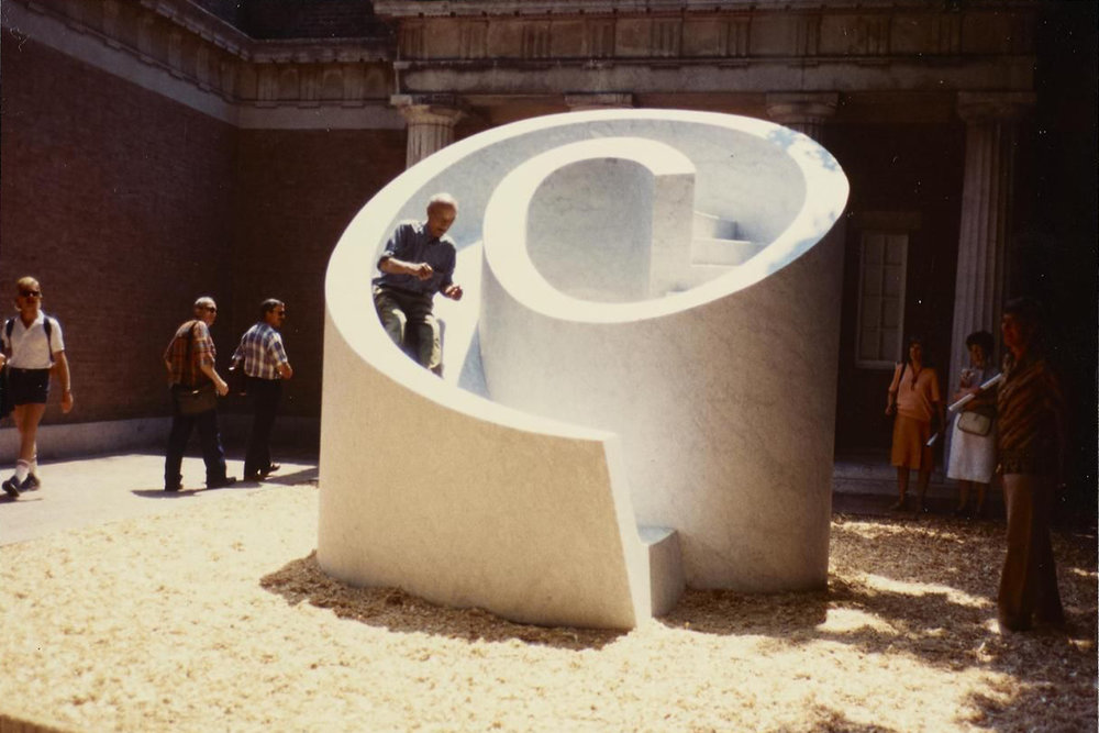 Isamu Noguchi | Slide Mantra l The New Amity Workshop