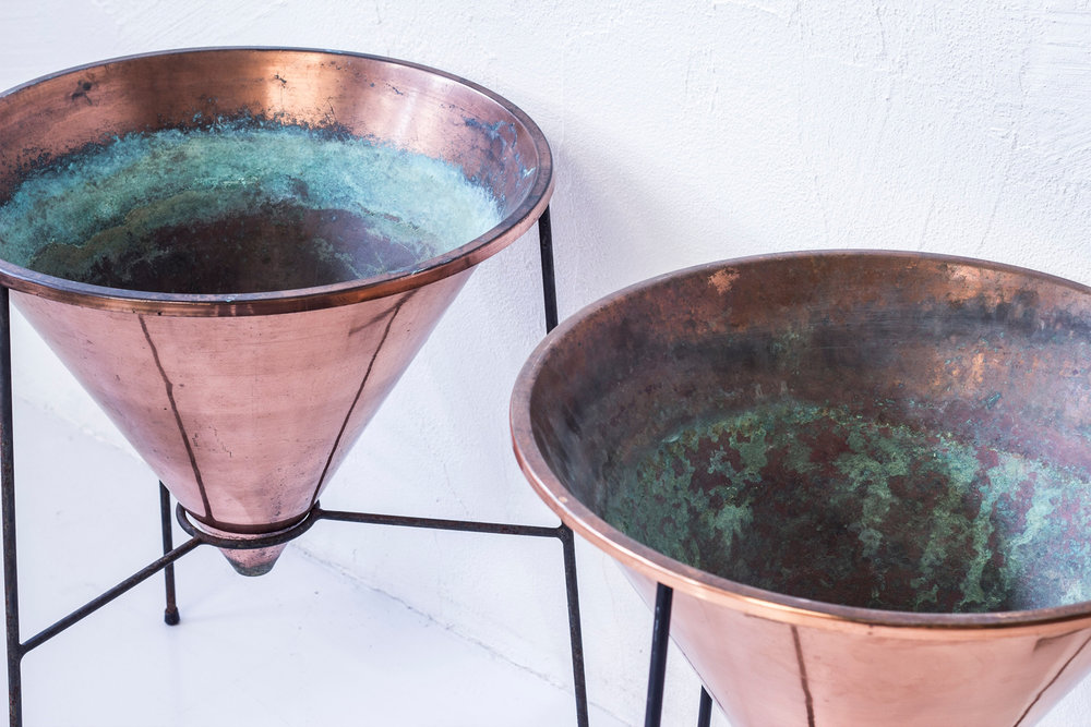 Hans Agne Jakobsson | Copper Planters | The New Amity Workshop
