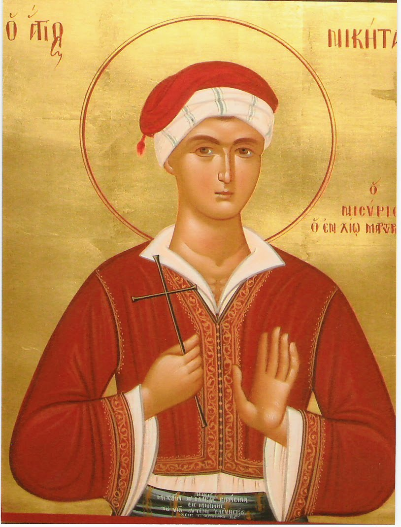 Saint Nikitas the New Martyr of Nysiros