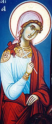 Saint Akylina the New Martyr of Thessaloniki
