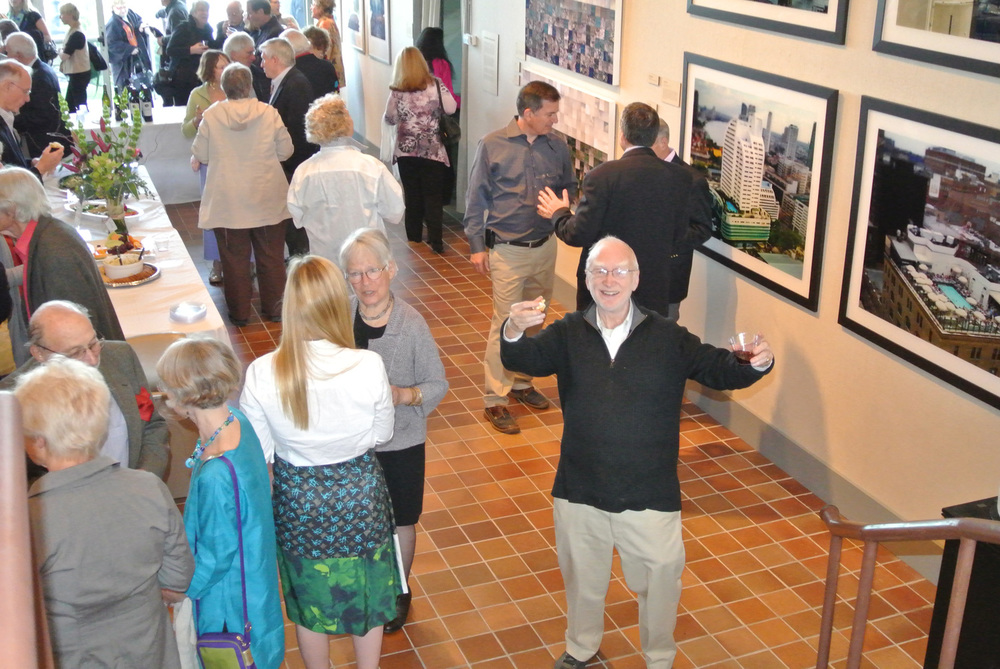 Light, Motion, Sound: 2012 reception, Bruce Brown