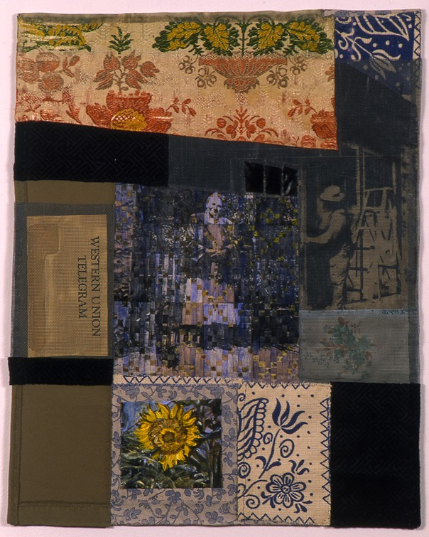 "Gail Skudera,  Mother of Thyme , 2002, Woven mixed media, 23.5"" x 18"", $1,200."
