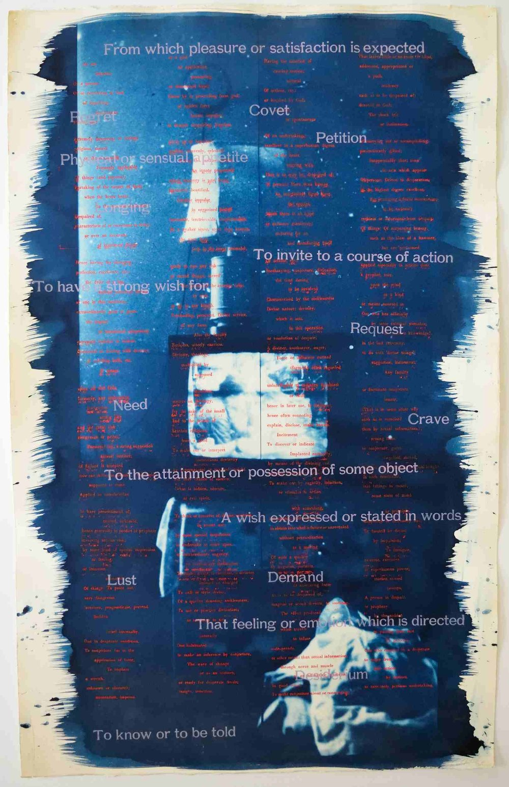 Greg Shattenberg,  Petition , 2003, Mixed media, 26 x 40 inches