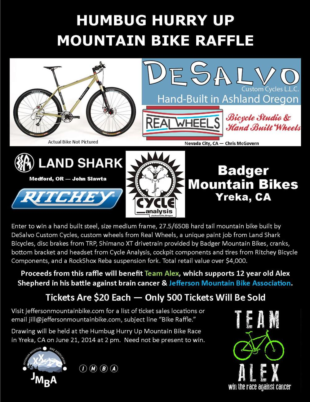 Jefferson Mountain Bike Association teams up with TEAM ALEX